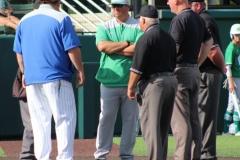 Wall-Brock baseball playoff (Game 1)