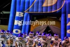 Brock-Breckenridge football playoff