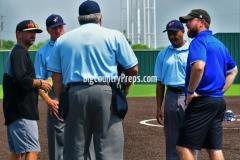 Brock-Bushland softball playoff (Game 1)