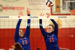 Clyde-Cooper volleyball