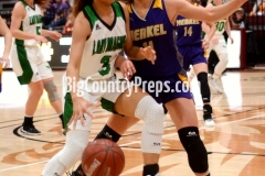 Merkel-Bangs girls basketball playoff